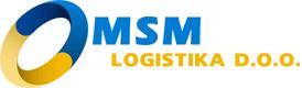 Logo MSM Logistika doo